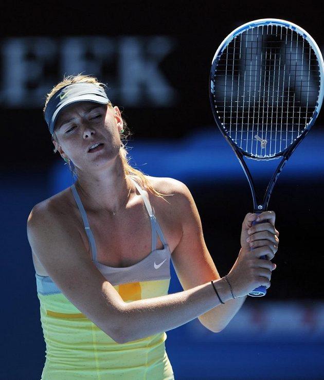 Maria Šarapovová nestačila v semifinále na Číňanku Li Na.