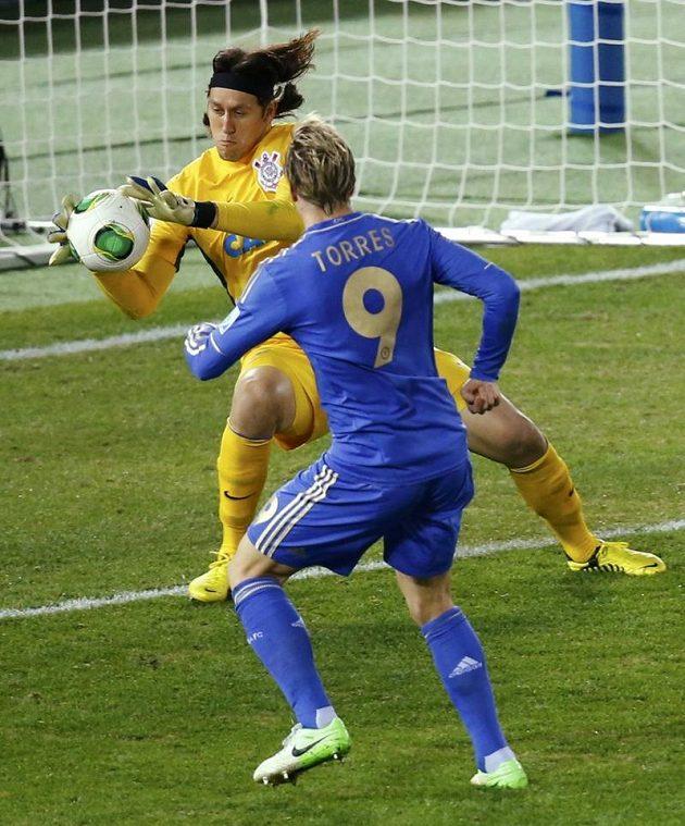 S Torresovou šancí si Casso poradil.