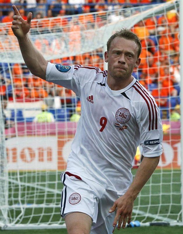 Střelec jediného gólu zápasu Michael Krohn-Dehli
