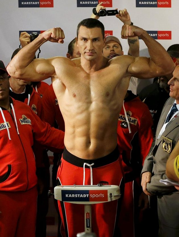 Ukrajinec Vladimir Kličko je stále v dobré kondici.