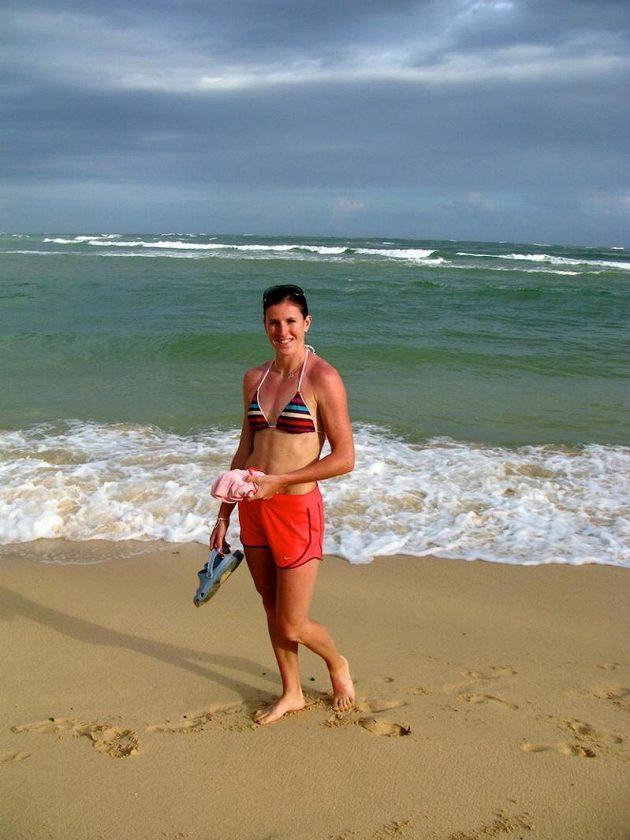 Moře a pláž jsou nejlepší regenerací po náročné sezóně.