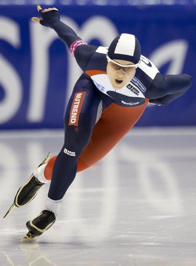 Karolína Erbanová odstartovala evropský šampionát ve víceboji v Heerenveenu triumfem ve sprinterském závodu na 500 metrů