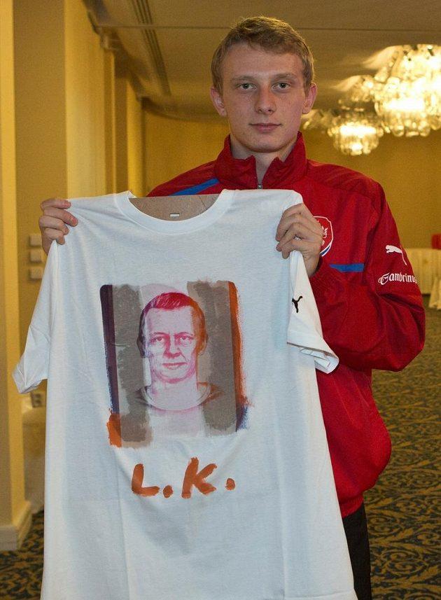 Sparťanský fotbalista Ladislav Krejčí.