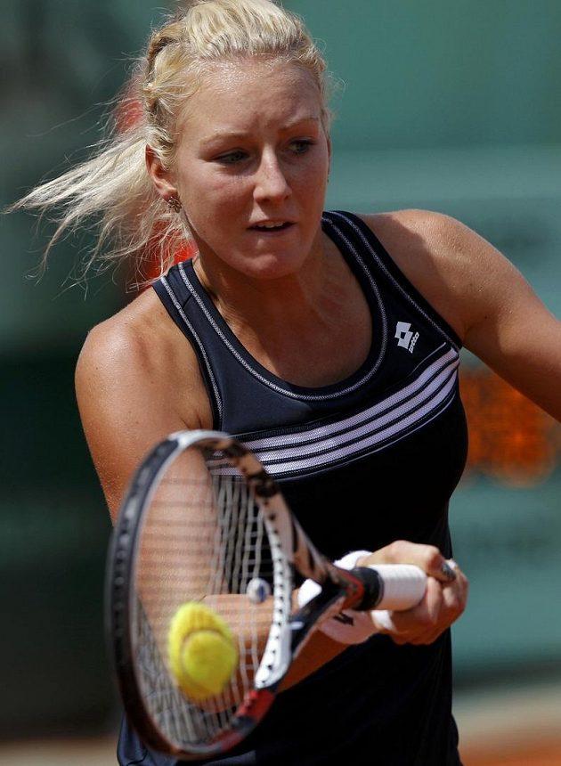 Marná byla snaha polské tenistky Urszuly Radwaňské, na českou favoritku nestačila