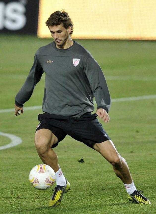 Největší hvězda fotbalistů Bilbaa Fernando Llorente.