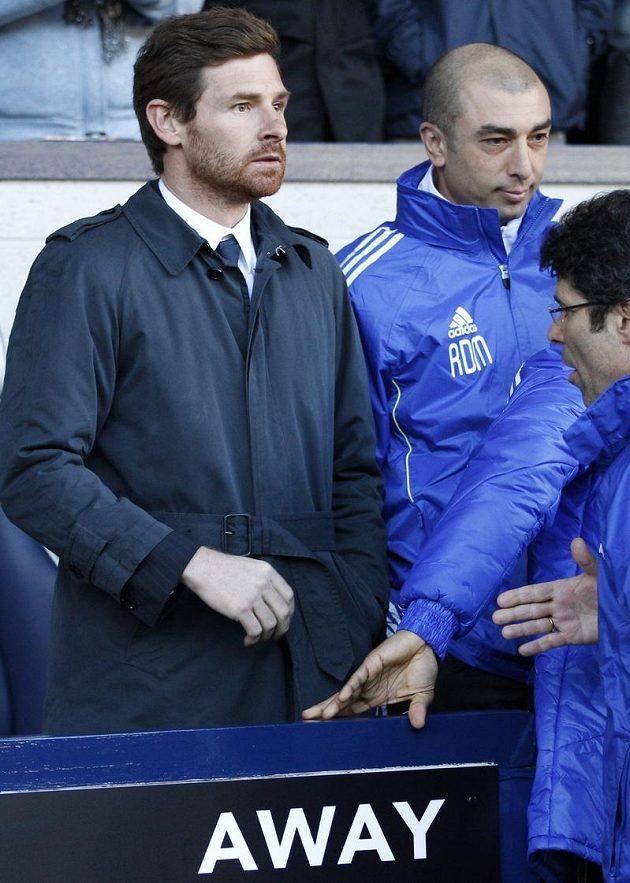 Roberto Di Matteo (vpravo ještě jako asistent Andre Villas-Boase) je přesvědčen, že svou misi zvládne.