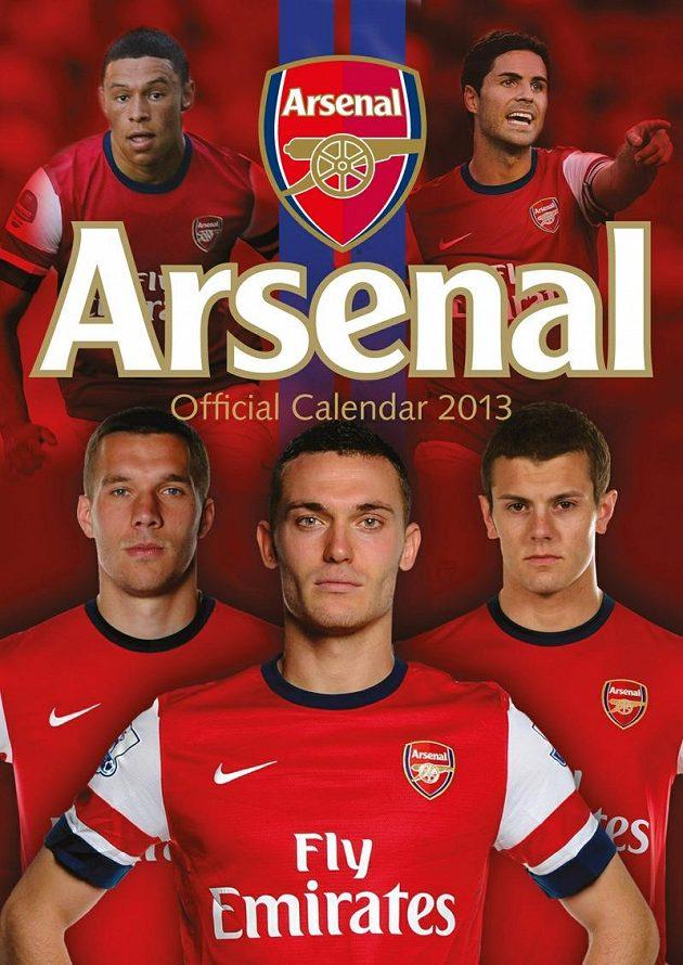 """Oficiální kalendář """"Gunners"""" pro rok 2013"""