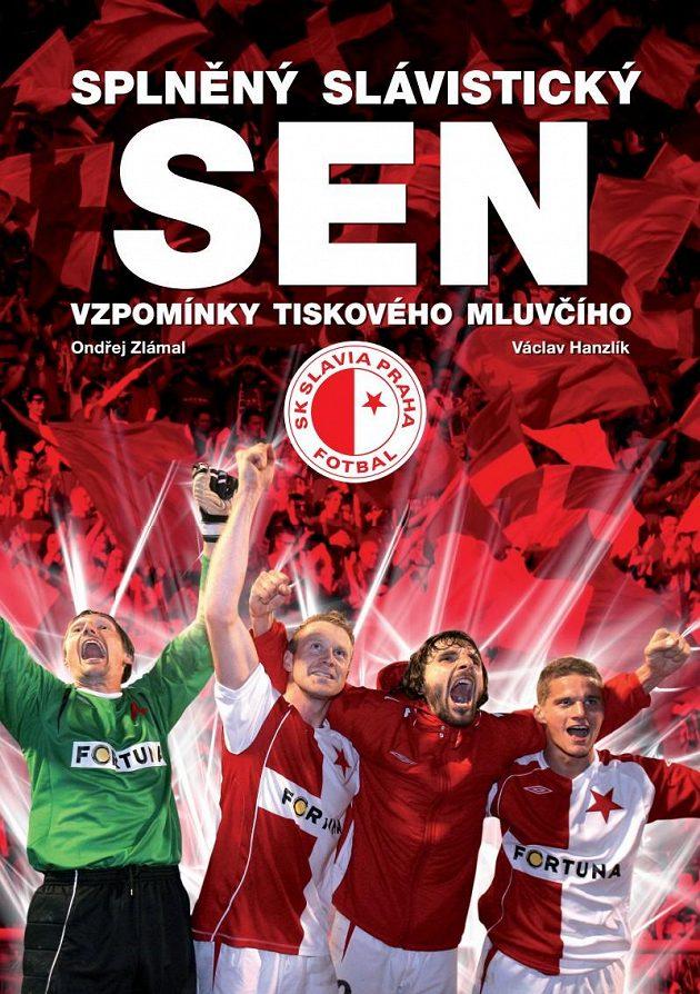 Titulní stránka nové knihy.
