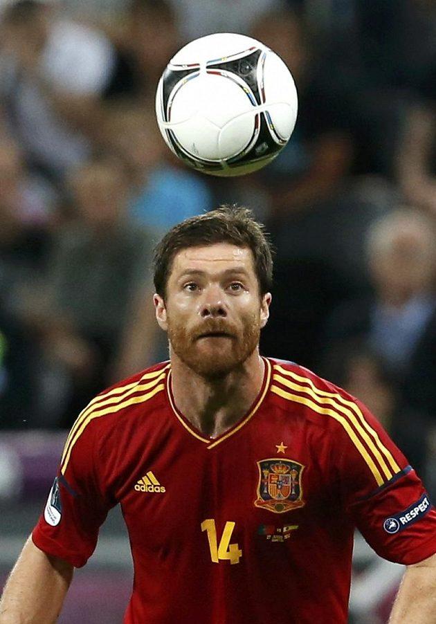 Xabi Alonso, španělský hrdina čtvrtfinálové partie s Francouzi