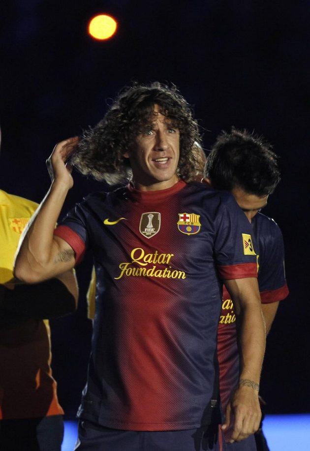 Carles Puyol z Barcelony