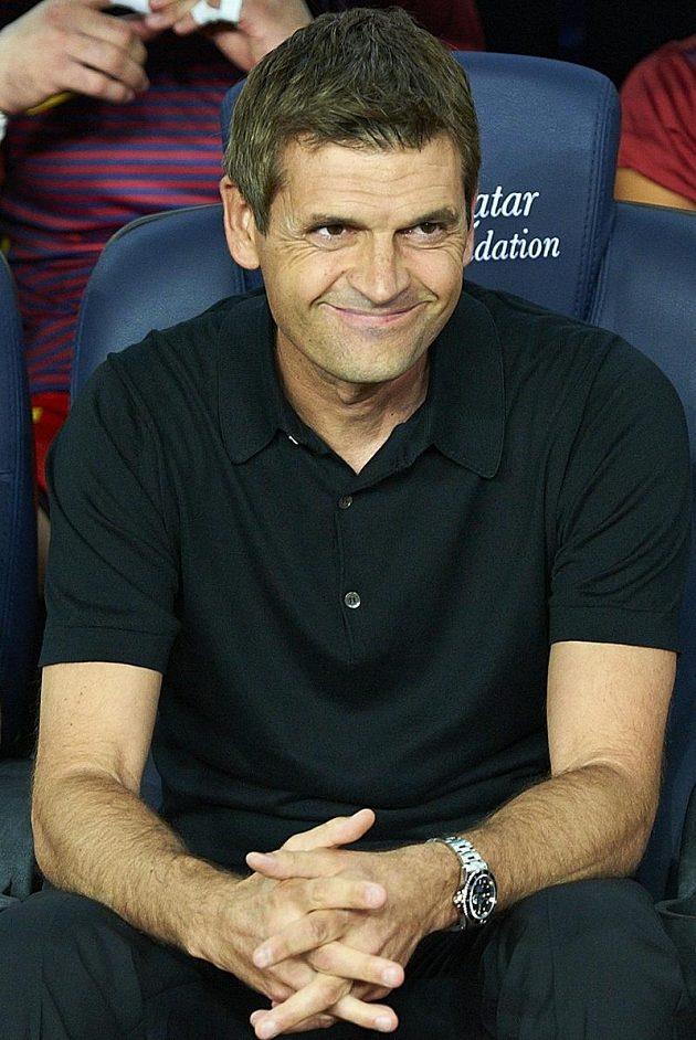Kouč Barcelony Tito Vilanova měl důvod k úsměvu.
