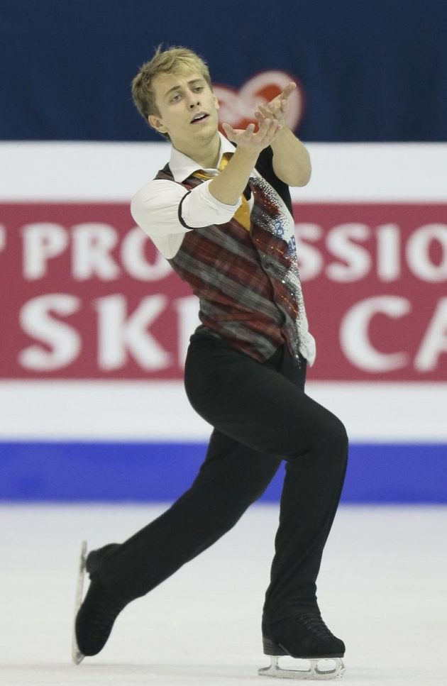 Michal Březina na evropském šampionátu v Záhřebu