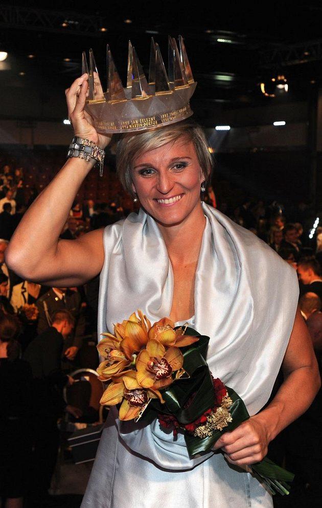 Barbora Špotáková, královna českých sportovců pro rok 2012