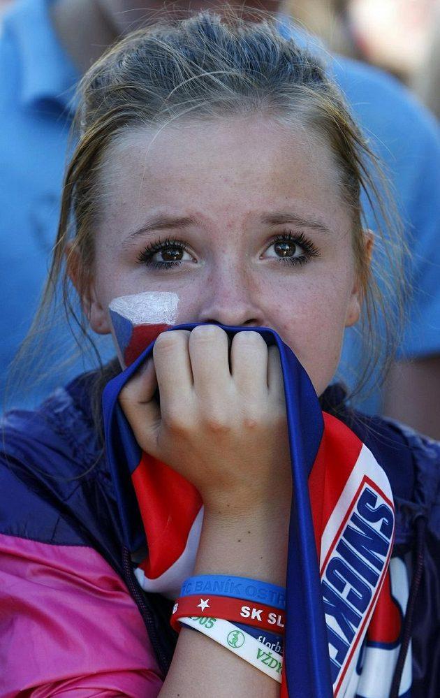 Prohra bolela i ty nejmladší příznivce českého hokeje
