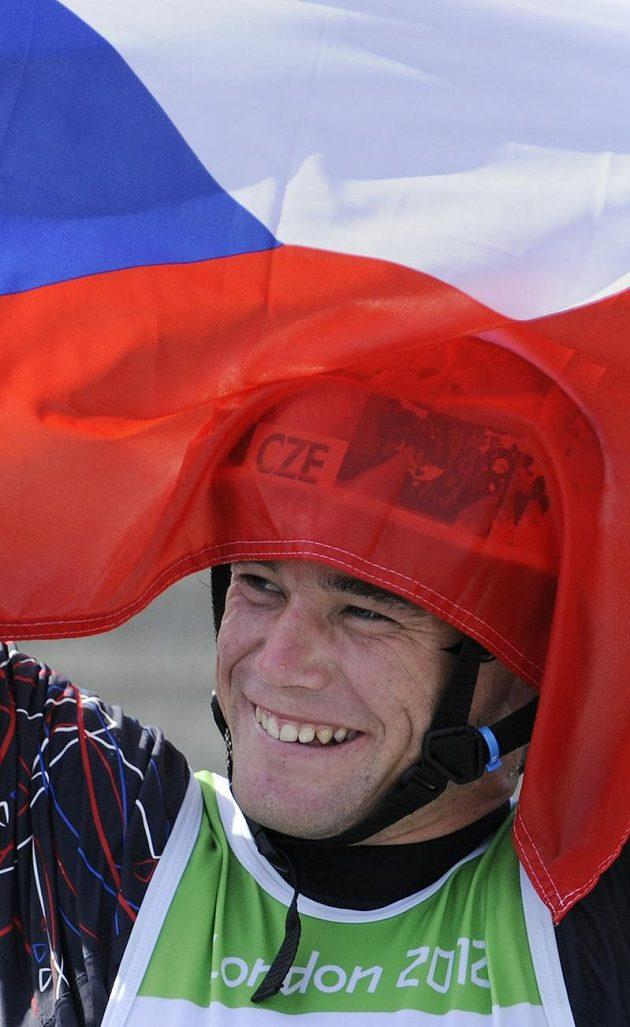 Kajakář Vavřinec Hradilek získal pro Česko na OH v Londýně první medaili, stříbrnou