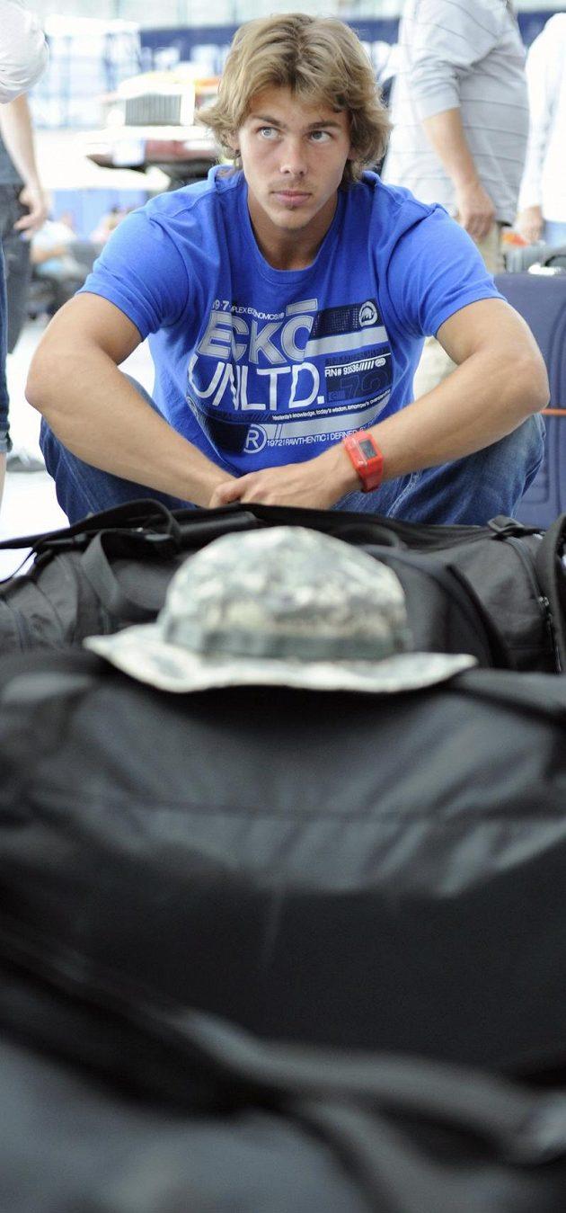 Atmosféru evropského šampionátu zažije i vícebojař Adam Sebastian Helcelet