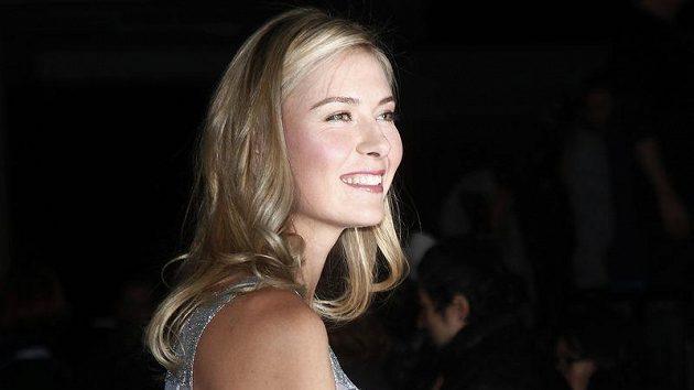 Tenistka Maria Šarapovová má kromě tenisu ráda i modeling.