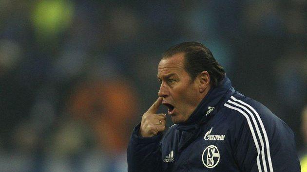 Trenér Schalke 04 Huub Stevens
