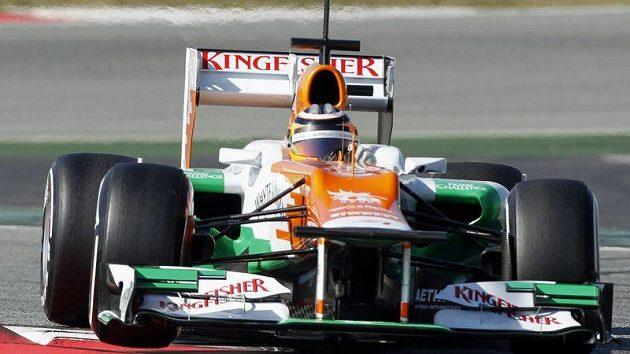 Nico Hülkenberg z týmu Force India.