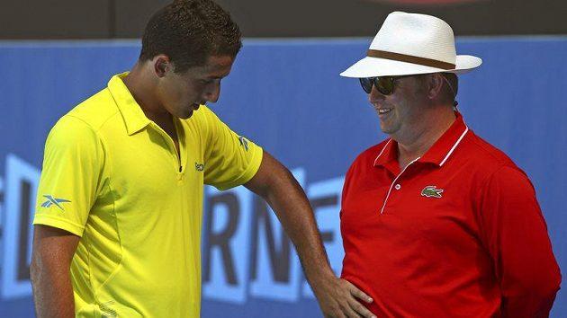 Nicolas Almagro je mezi hráči na okruhu ATP považován za provokatéra.