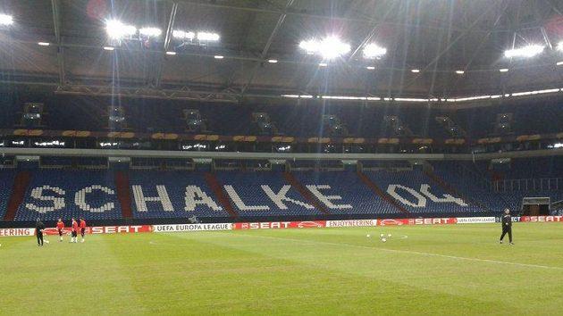 Stadion fotbalistů německého klubu Schalke 04