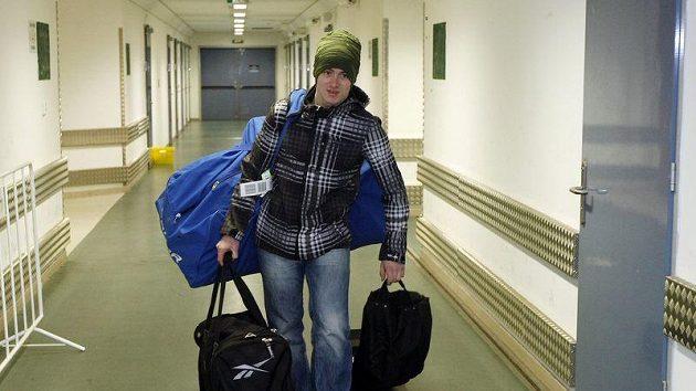 Jakub Petružálek na srazu národního týmu