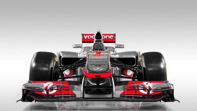 Vůz McLaren MP4-27