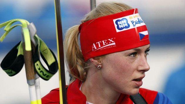 Česká biatlonistka Barbora Tomešová