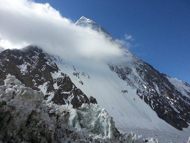 Vrchol K2. Poslední, který Radkovi Jarošovi chyběl do Koruny Himálaje.