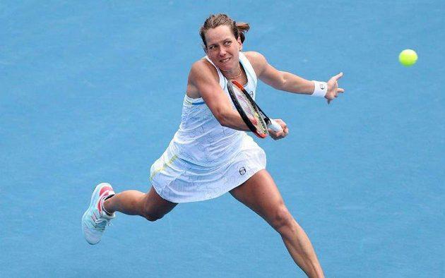 Barbora Strýcová do čtvrtfinále turnaje v Aucklandu neprošla.