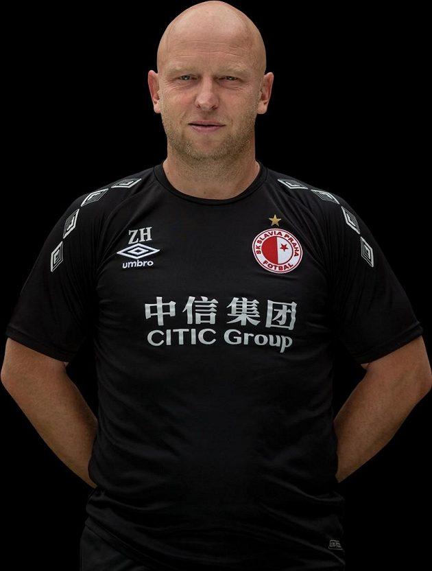 Asistent trenéra Slavie Zdeněk Houštecký