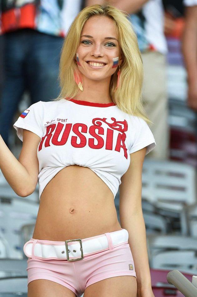 Fanynka Ruska na letošním ME.