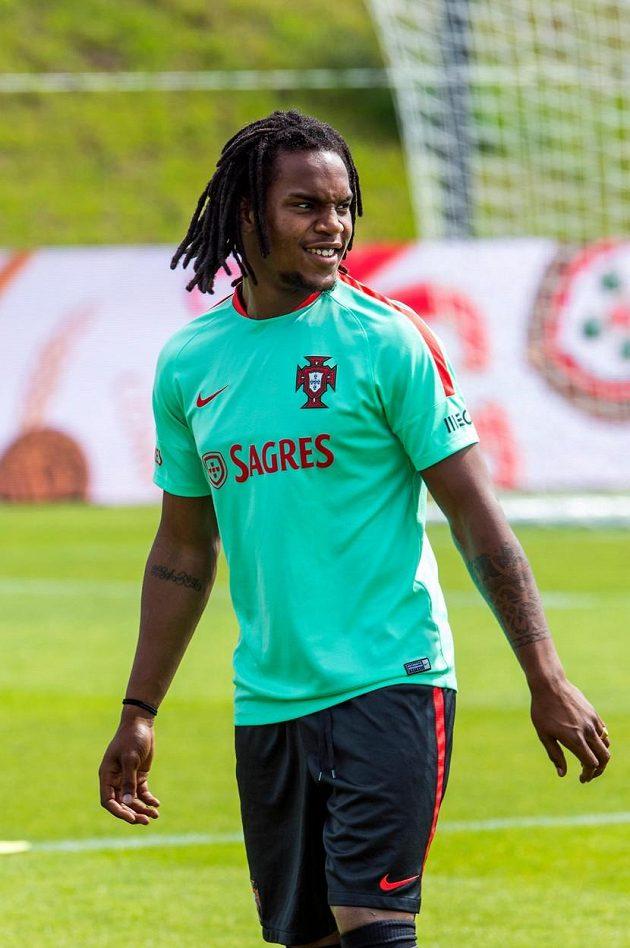 Portugalský fotbalový reprezentant Renato Sanchez je hvězdou ME hráčů do 21 let.