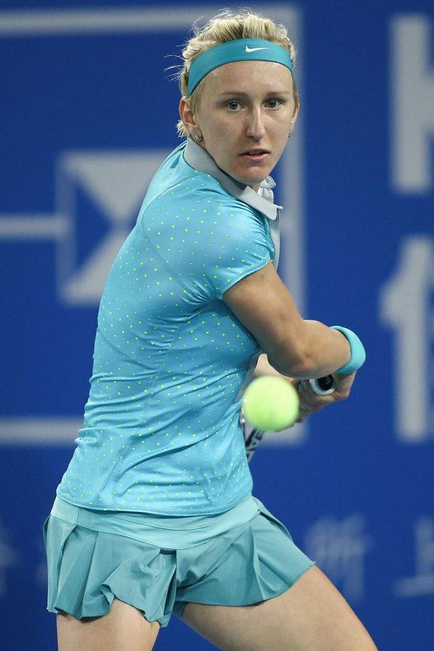 Tereza Smitková na sebe upozornila v čínském Šen-čenu, kde ji až v semifinále vyřadila Petra Kvitová.