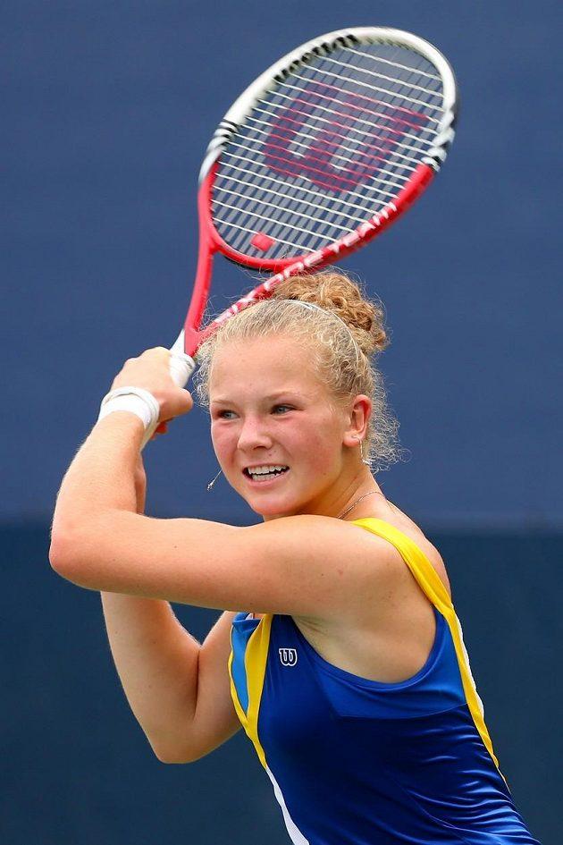 Teprve osmnáctiletá Kateřina Siniaková.