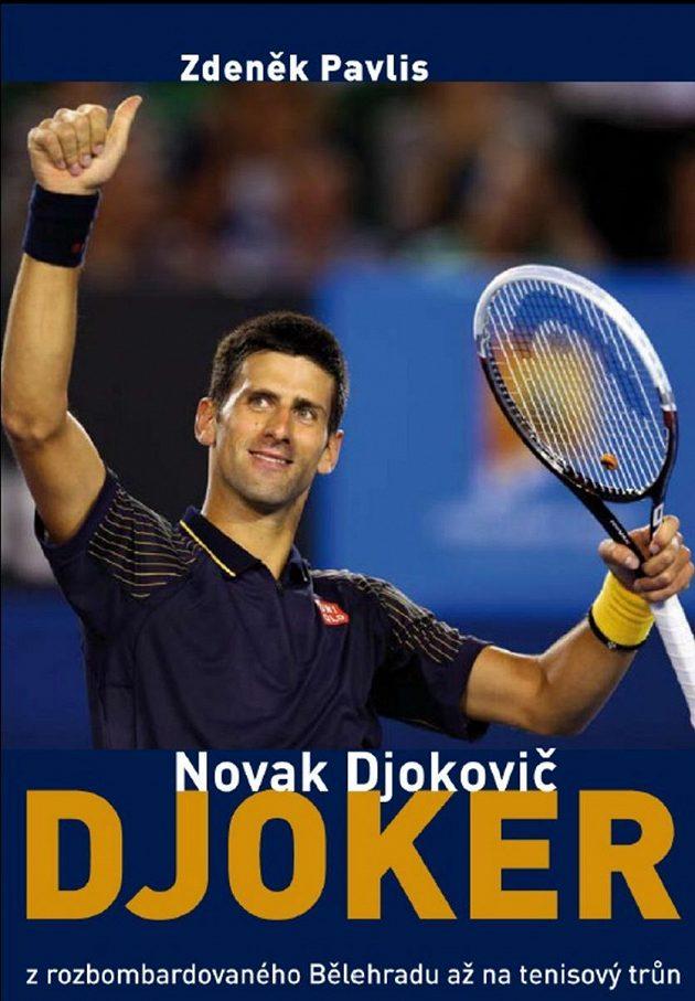 Titulní stránka knihy Novak Djokovič - Djoker.
