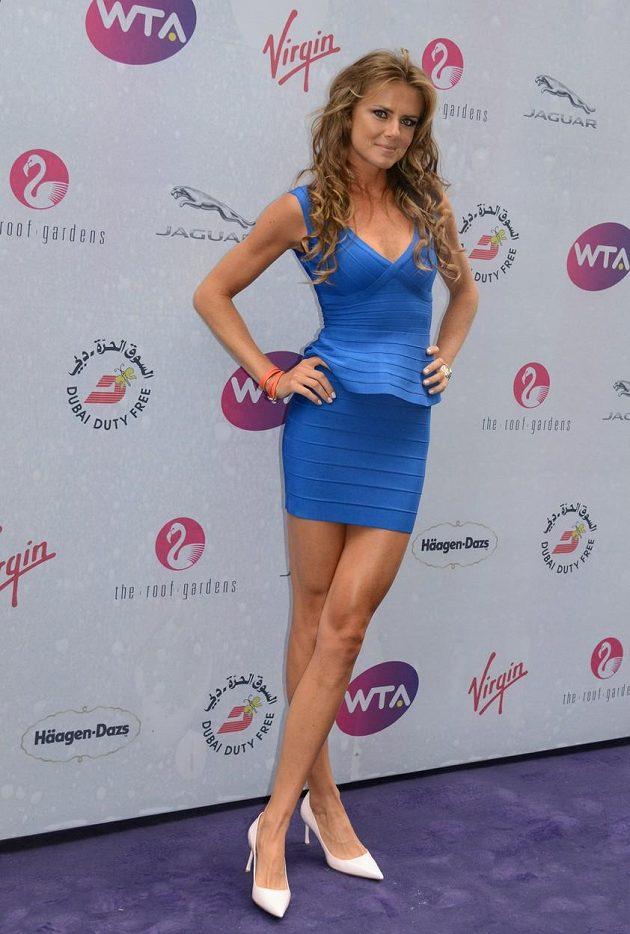 Daniela Hantuchová na party před Wimbledonem.