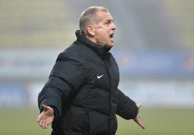 Hlavní trenér Příbrami Petr Rada.