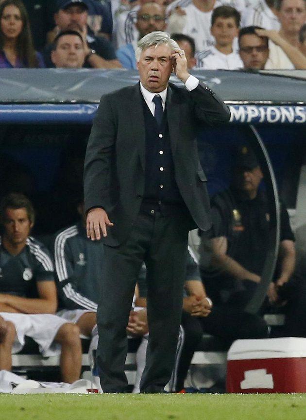 Italský trenér španělského Realu Madrid Carlo Ancelotti