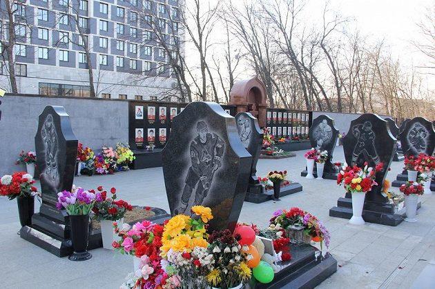 Hřbitov v Jaroslavli.
