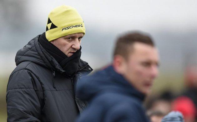 Trenér Slovanu Liberec Josef Csaplár.