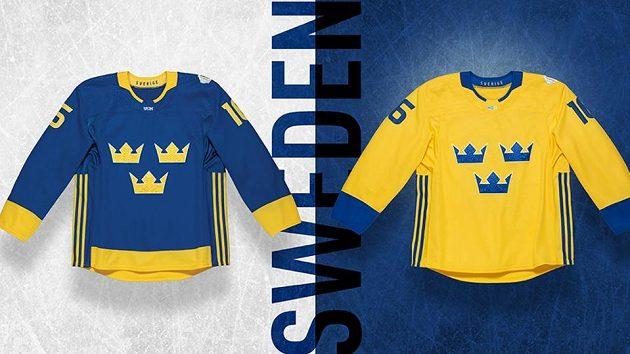 Dres Švédska pro Světový pohár v hokeji.