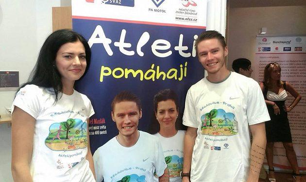 Atleti pomáhají dětem. Mezi ně se řadí i Kristiina Mäki a Pavel Maslák.