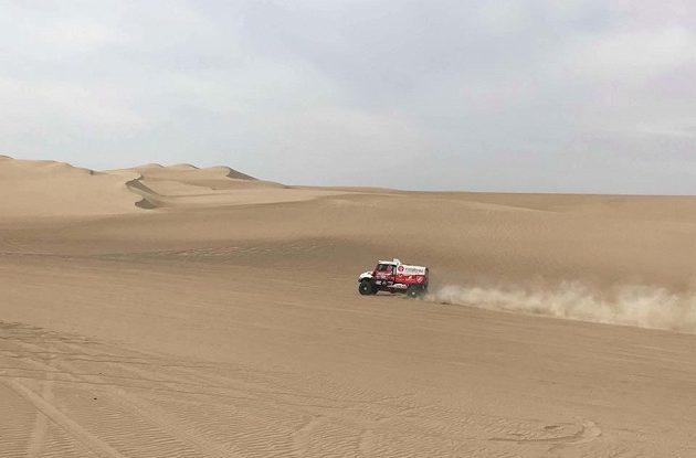 Aleš Loprais se svou tatrou na Rallye Dakar 2018