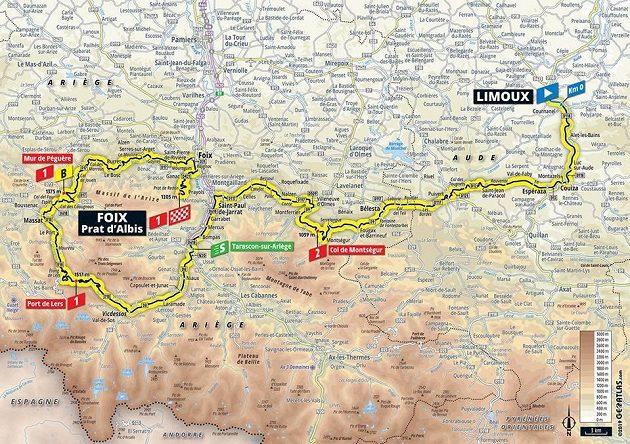 Tour de France 15. etapa