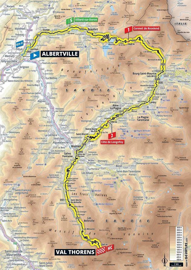 Tour de France 20. den