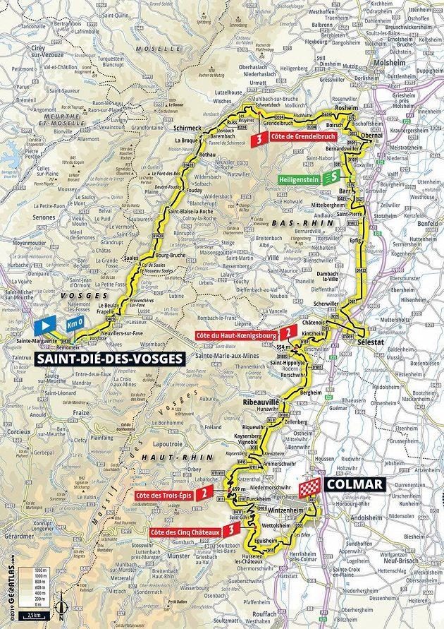 Tour de France - 5. den