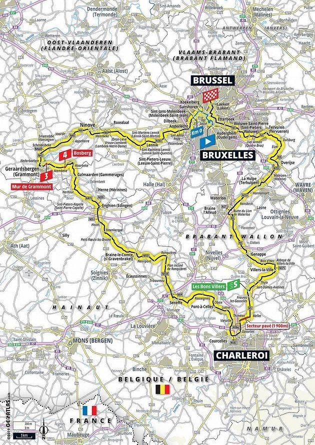Tour de France 1. den