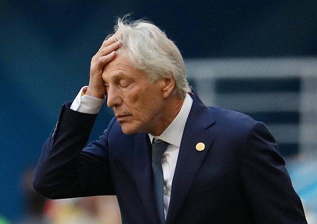 Trenér kolumbijských fotbalistů José Pekerman byl asi během zápasu s Japonskem zralý na infarkt.