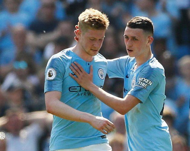 Fotbalisté Manchesteru City si poradili s Tottenhamem
